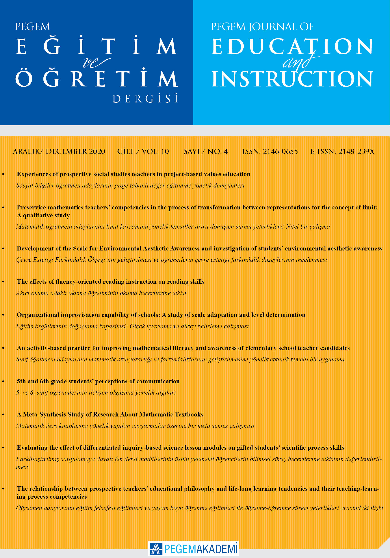 View Vol. 11 No. 1 (2021): PEGEGOG CURRENT ISSUE