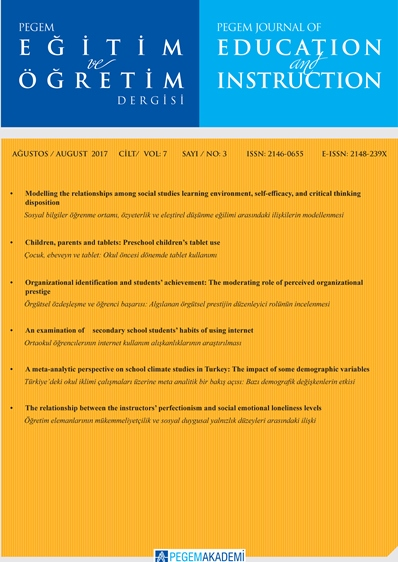 View Vol. 11 No. 3 (2021): PEGEGOG CURRENT ISSUE